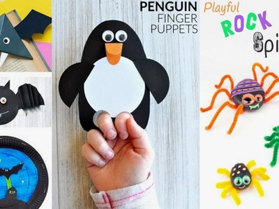 20 DIY Animal Craft Ideas |  Crafts for Kids Origami