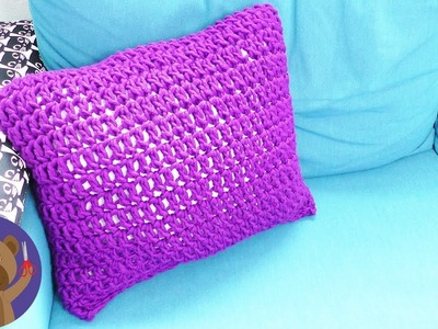 Crochet your own Pillowcase | DIY Couch Cushion