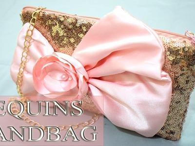 D.I.Y Beautiful Bow Handbag Tutorial |House Of Fashion