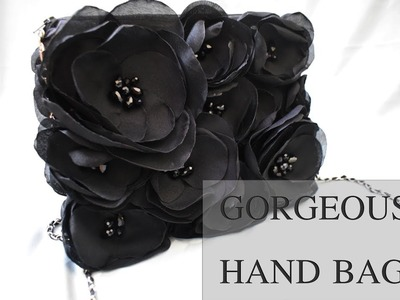 D.I.Y Gorgeous Black Handbag Tutorial |House Of Fashion
