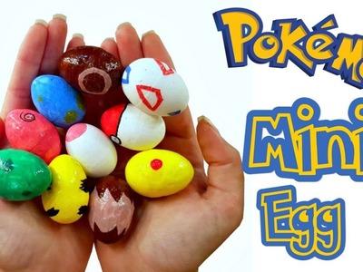 DIY Miniature ✫ Pokemon Mini Eggs ✫ Tutorial | Crafts
