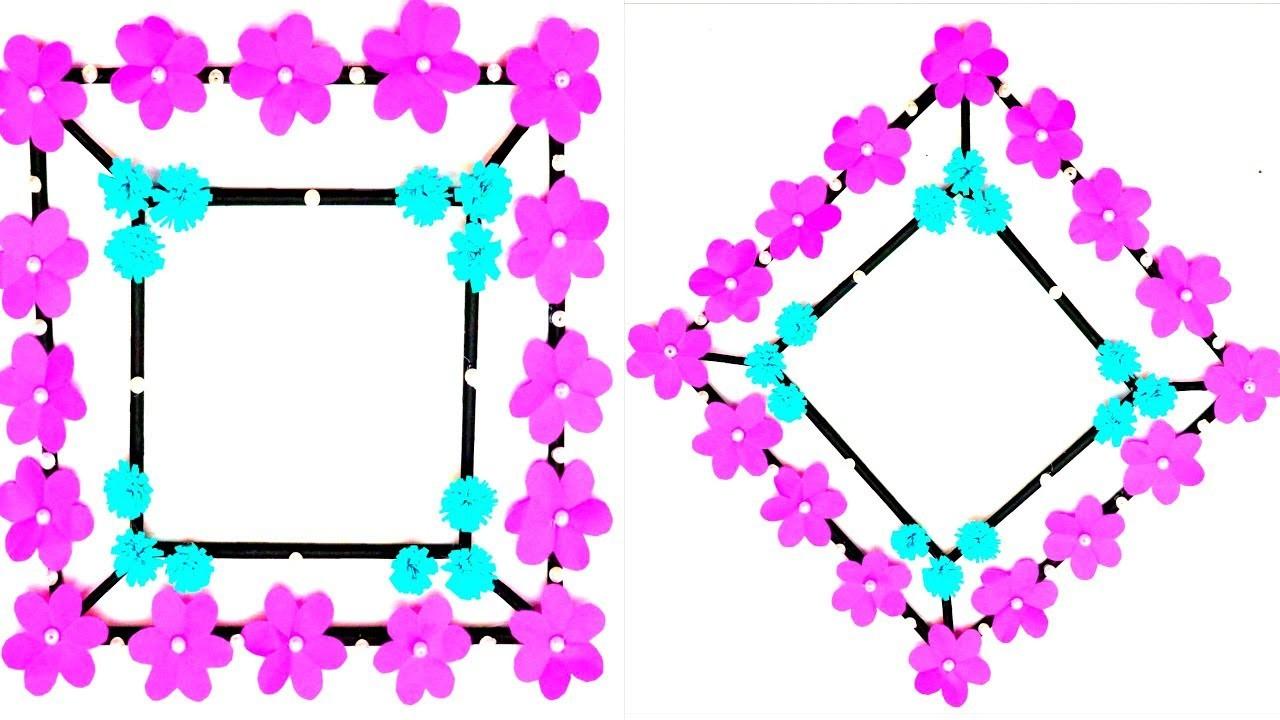 DIY Paper Flowers Wall Decor Simple and Easy Wall Decor Ideas EMMA DIY 89