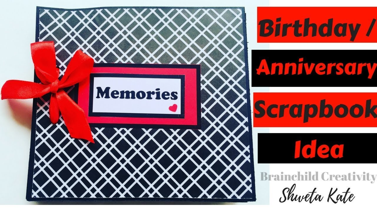 Tutorial Diy Scrapbook Ideas Photo Album Ideas Scrapbook For Him