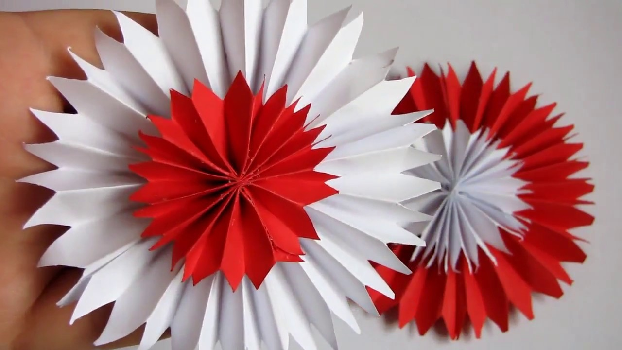 Diy Super Paper Flowers Very Easy And Simple Paper Crafts