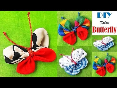 Fabric Butterfly How To Make DIY Tutorial