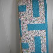 Handmade,Crib,Toddler,New,!00%Cotton,Patchwork,Pig,Modern,Nursery,Designer,Babyshower,Gift,FreeshippingintheUSA,