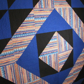 Handmade,Quilt,Queen,Diamond,Southwest,Bed,Genuine,oneofakind,