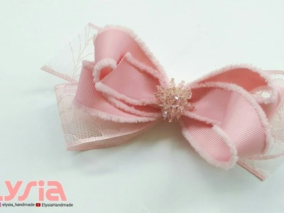 Laço Sweetie ???? Ribbon Bow ???? DIY by Elysia Handmade