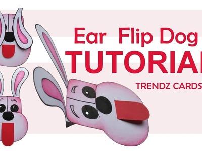 New Ear Flip Dog Technique Tutorial  | DIY | Handmade Paper Techniques | Craft | How To Make