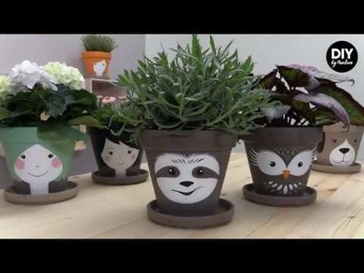 Panduro DIY – Sloth Flower Pot