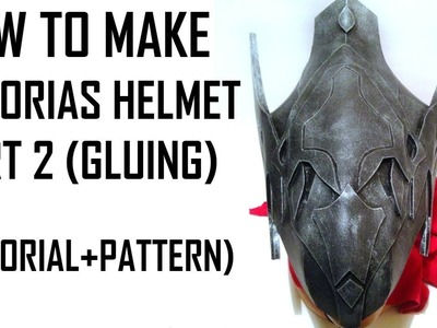 Artorias helmet. Dark Souls tutorial. How to make Part 2