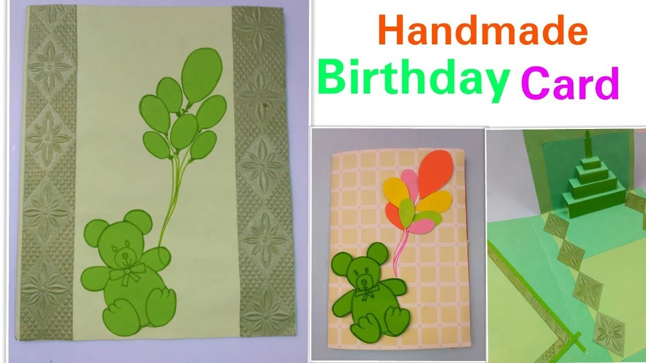DIY Birthday Card For FriendsHusband Handmade Cards BoyfriendBirthday Greeting Brother