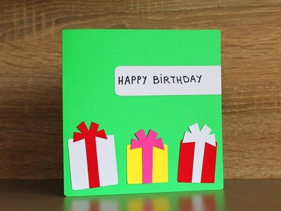 DIY Birthday Cards for Kids - Homemade Cards for Kids