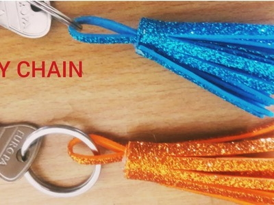 DIY KEYCHAIN TASSEL.DIY KEYCHAIN CHARM.HOW TO MAKE KEYCHAINS AT HOME EASY