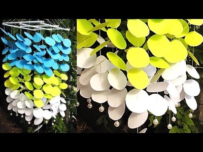 DIY Simple Home Decor - Hanging Flowers - Handmade Decoration 64
