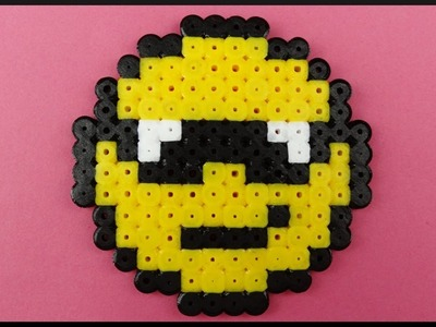 DIY Time Lapse | Cool Perler Beads Smiley Coaster | Bügelperlen Smiley Party Untersetzer