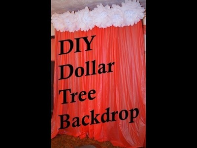 - Easy Quick Dollar Tree Back Drop $5 DIY Paper Flower Backdrop