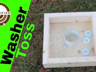 How to Build a Washer Toss Game
