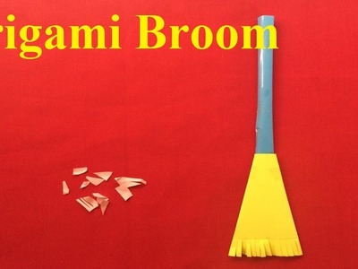 How to make a paper broom