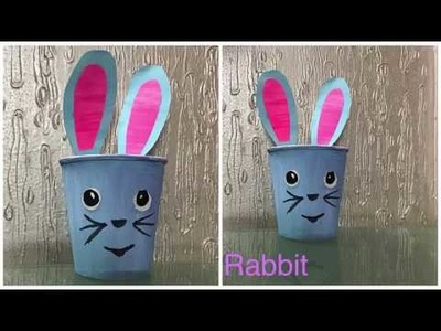 How to make Rabbit from Thermocol glass