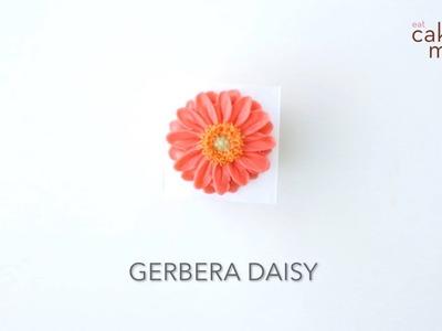 How to Pipe a Buttercream Flower: Gerbera Daisy