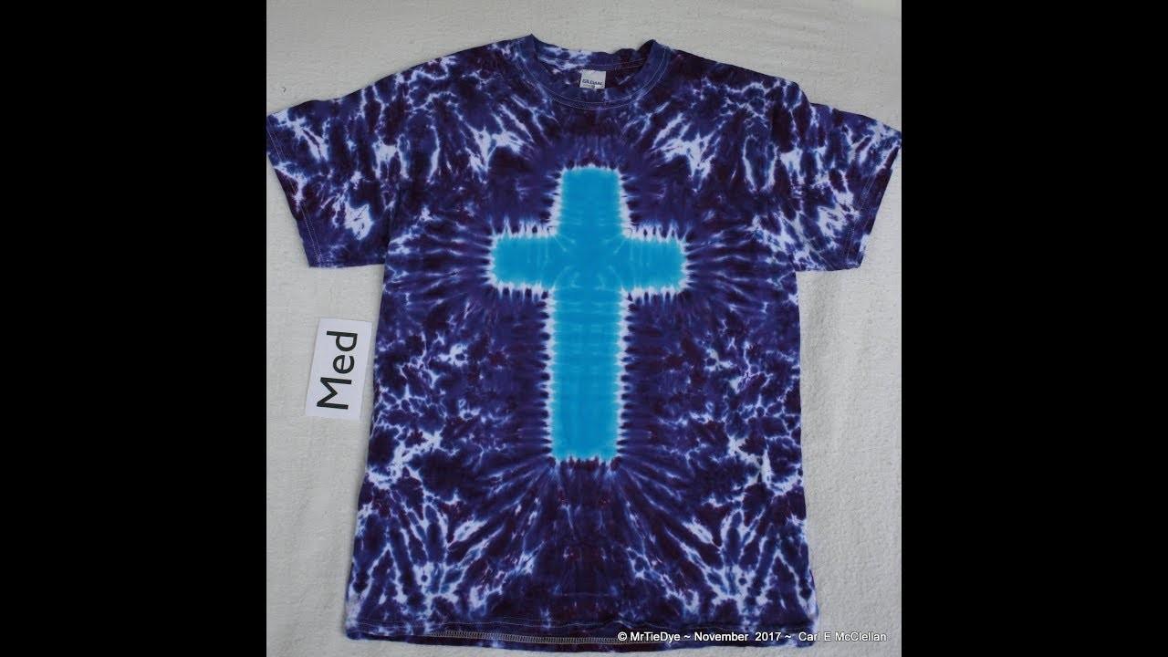 How to Tie Dye a Cross
