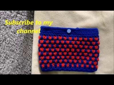Maruti Crochet : How to crochet a Hand Purse Tamil Video tutorial