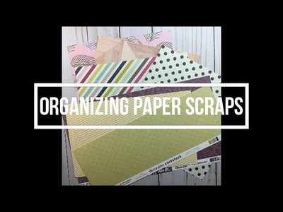 Organizing Paper Scraps. Options. My Thought Process