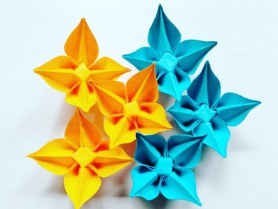 Origami origami carambola flower with four petals beautiful paper origami carambola flower with four petals beautiful paper mightylinksfo