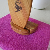 """Surf board trophy """"Nippers"""" solid Australian timber handmade"""