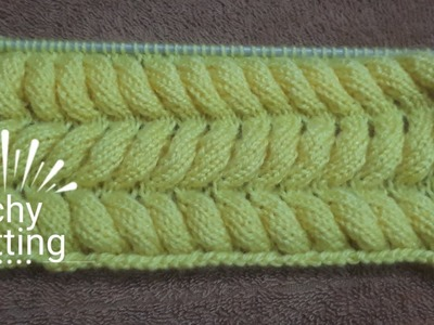 Unique knitting pattern in an easy way #18 for kids and teenagers
