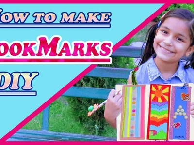 3 EASY DIY PAPER BOOKMARKS IDEAS  ????❤????????#CRAFT #FOR BEGINNERS #HOWTO #forkids #aishmindiy