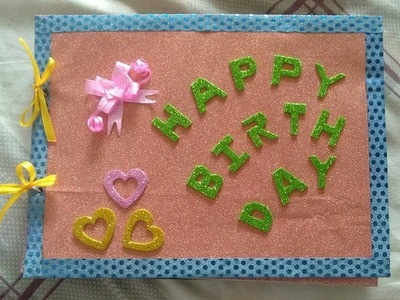 Best handmade greeting card for boyfriend. girlfriend | Scrapbook idea | Best gift for boyfriend
