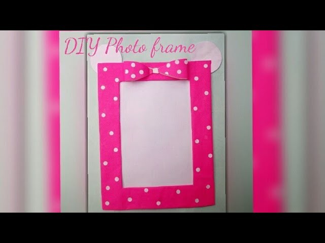 Diy Minnie Mouse Photo Frameprachi Muskan Crafts