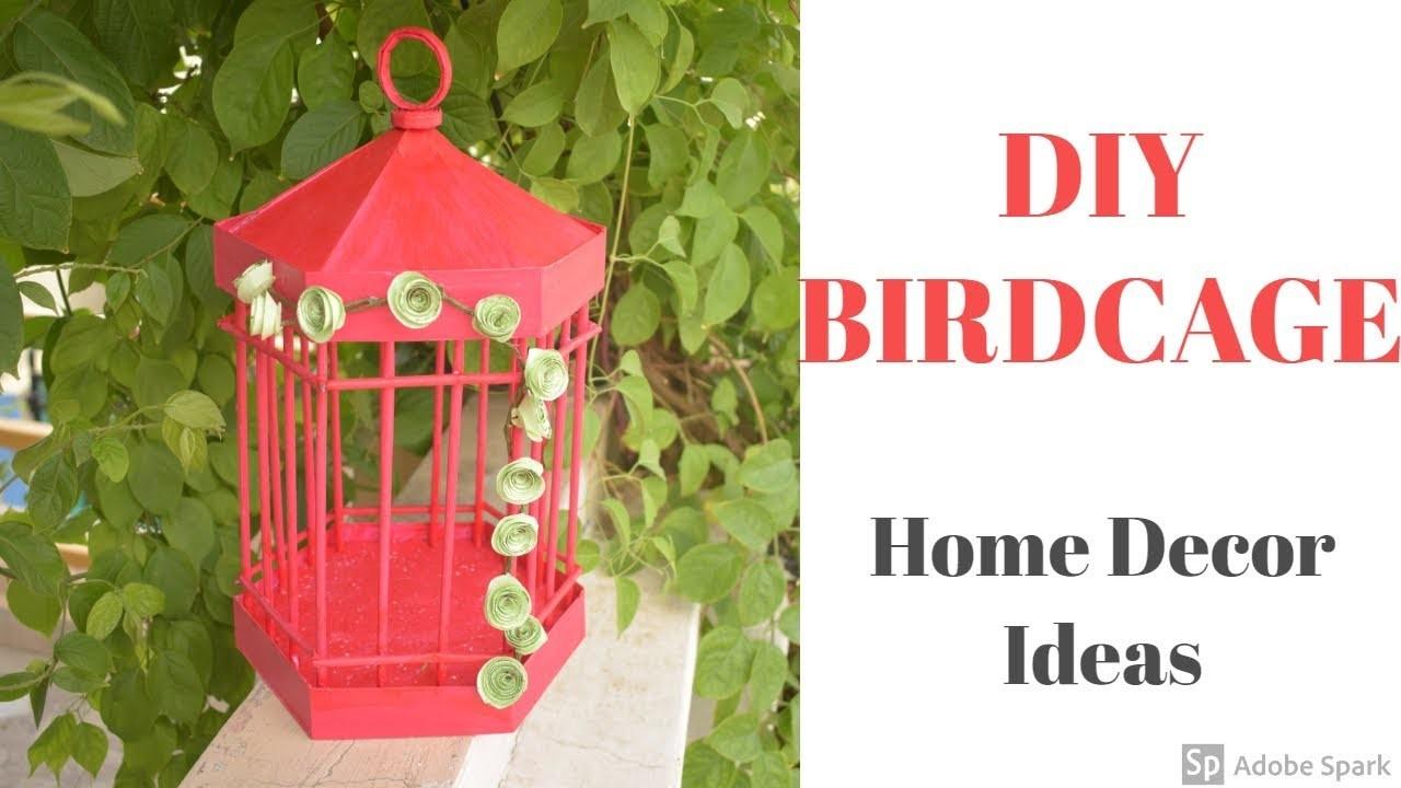 Diy Paper Birdcage Paper Craft Home Decor Ideas