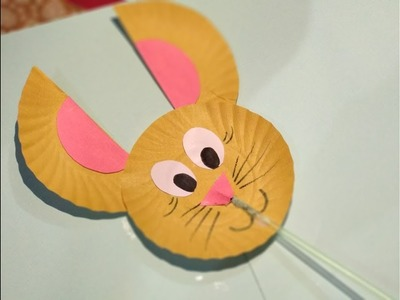 DIY- Paper Plate Rabbit Craft || Innovative artsncrafts