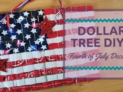 Dollar Tree DIY: Fourth of July Decor
