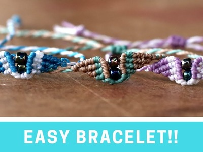 EASY AND FAST BRACELET! | Macrame tutorial