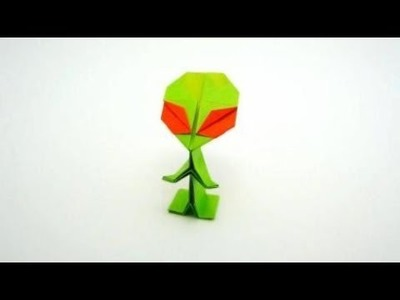Origami Alien, How To Make a Paper Ailen?