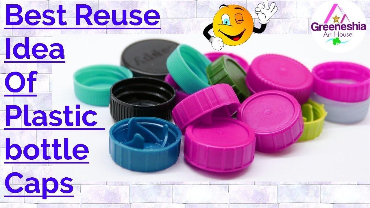 Plastic Bottle Cap Craft Idea Plastic Bottle Cap Crafts Best Out