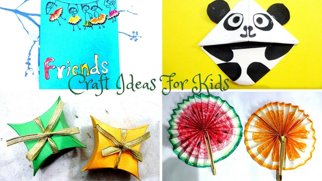 4 Craft Ideas You Should Try In Summer Holidays Life Hacks For Kids
