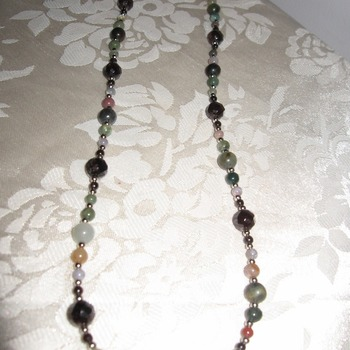 Brand New Handmade Real Gemstone Necklace