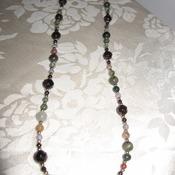 Brand New Handmade Real Gemstone Necklace