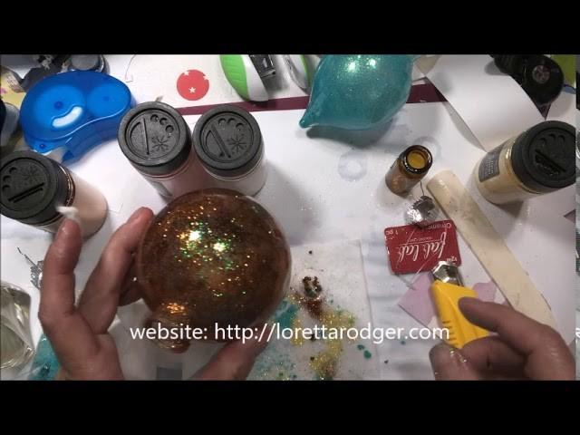 Craft Fair 2018 Series Part THREE - ideas you can use! Ornaments!