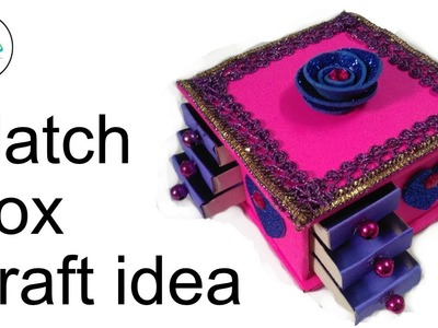 DIY Best out of best match Box.Best reuse idea.Cool craft