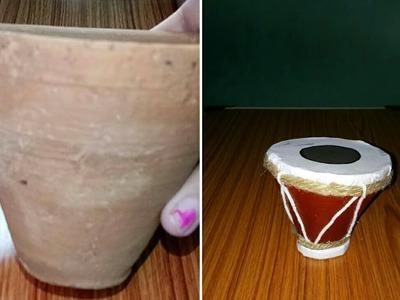 DIY- Drum.Tabla from kullahad.How to make drum(tabla).