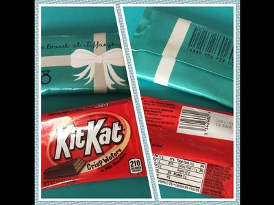 DIY KitKat Wrapper Tutorial and Assembling l Make it with Cricut.