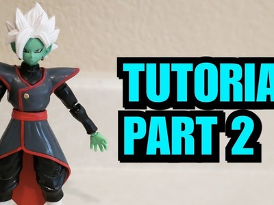 DIY MERGED ZAMASU CUSTOM TUTORIAL PART 2