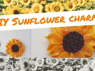 DIY POLYMER Sunflower Tutorial