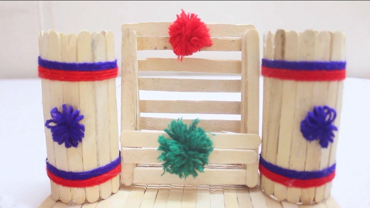 Diy Popsicle Stick Craft Ideas Popstick Crafts Project Ice Cream